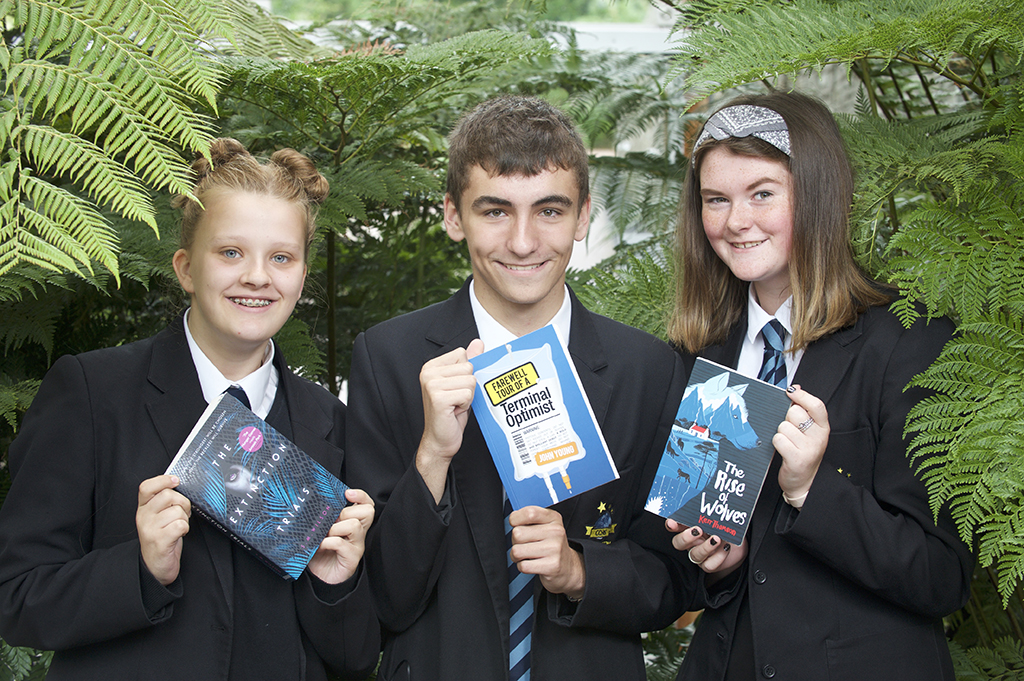 SCOTTISH TEENAGE BOOK PRIZE SHORTLIST
